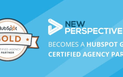 New Perspective Becomes A HubSpot Gold Certified Agency Partner
