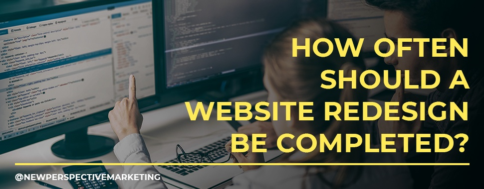 how often should a website redesign be completed