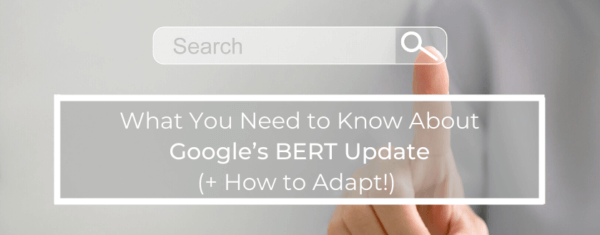 What You Need to Know About Google's BERT Update (+ How to Adapt!)