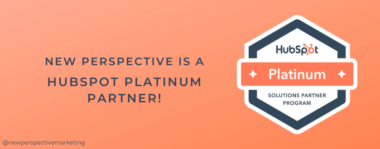 New Perspective Becomes a HubSpot Platinum Partner!