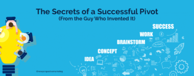 The Secrets of a Successful Pivot (From the Guy Who Invented It)